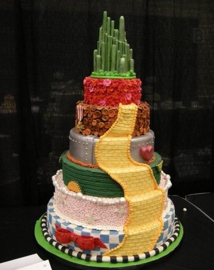 Oz In The News 12212 The Daily Ozmapolitan - Wicked Wedding Cakes