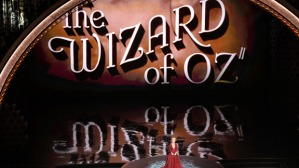 HOLLYWOOD, CA - MARCH 02: Video tribute to 'The Wizard of Oz' onstage during the Oscars at the Dolby Theatre on March 2, 2014 in Hollywood, California. (Photo by Kevin Winter/Getty Images)