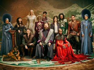 EMERALD CITY -- Season: 1 -- Pictured: (l-r) Roxy Sternberg as Elizabeth, Ana Ularu as West, Gerran Howell as Jack, Joely Richardson as Glinda/North, Stefanie Martini as Lady Ev, Jordan Loughran as Tip, Vincent D?Onofrio as Wizard/Frank, Adria Arjona as Dorothy Gale, Florence Kasumba as Wicked Witch/East, Mido Himada as Eamonn, Oliver Jackson-Cohen as Lucas, Isabel Lucas as Anna -- (Photo by: Michael Muller/NBC)